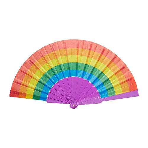 Regenboog gay waaier