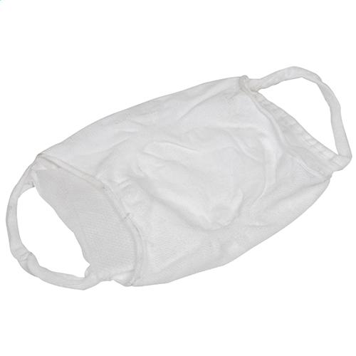 Comfortabel mondmasker wit liggend