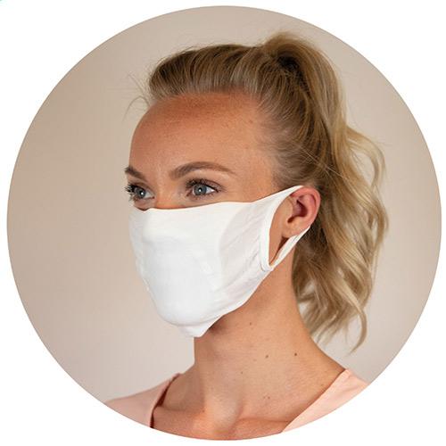 Comfortabel mondmasker bedrukken
