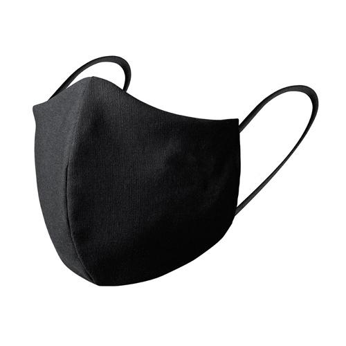 Herbruikbaar mondkapje zwart