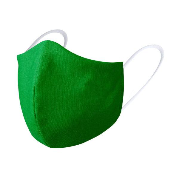Mondkapje borduren groen luxe