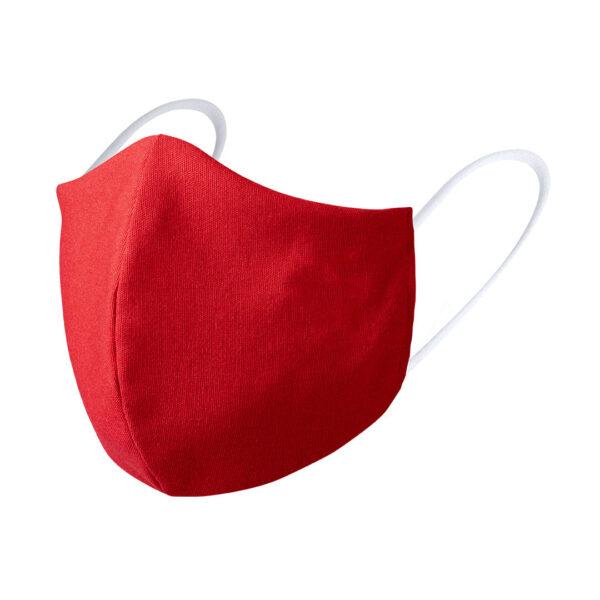 Mondkapje borduren rood luxe