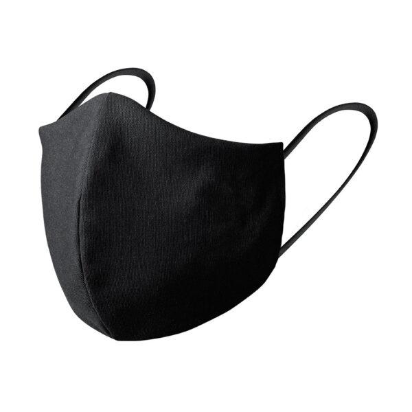 Mondkapje borduren zwart luxe