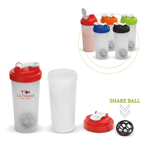 Shakers 600ml alle kleuren