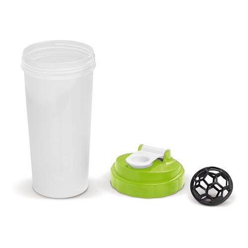 Shaker groen 600ml onderdelen
