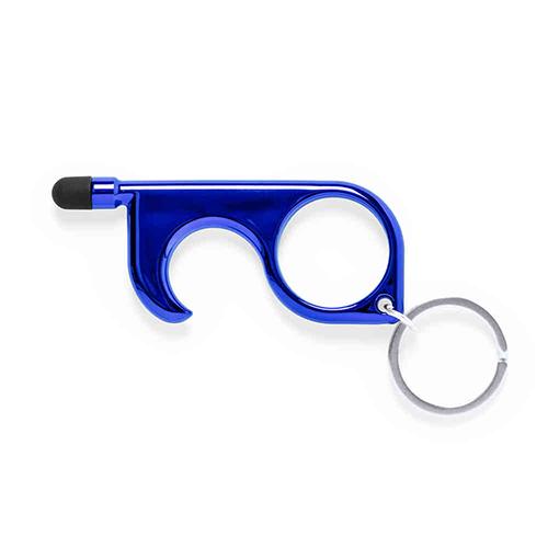 No touch key blauw