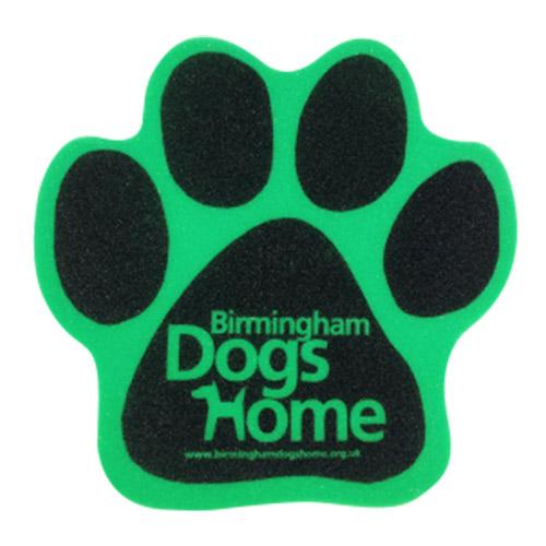 Foam hondenpoot groen