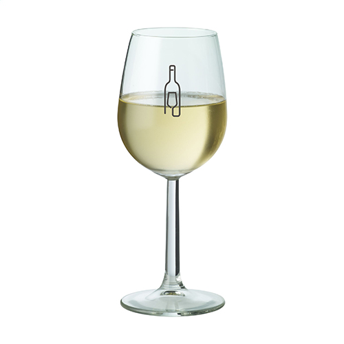 Bouquet wijnglas bedrukt