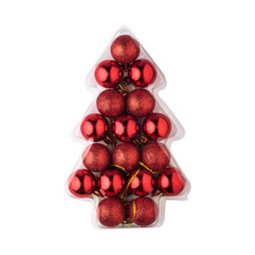 Kerstballen 17 st set kerstballen