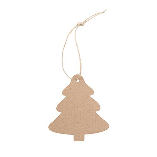 Kerstballen karton kerstboom achterkant