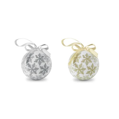 Kerstballen parelmoer productfoto