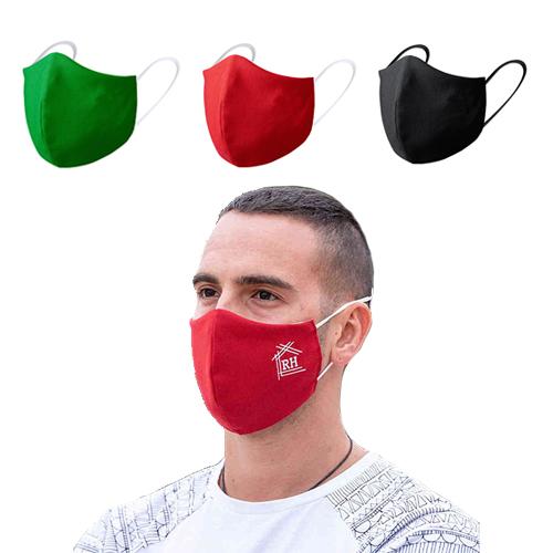 Luxe mondmasker sfeerfoto