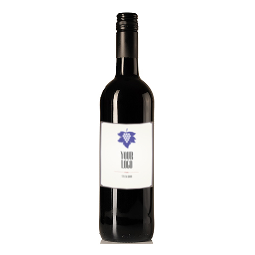 Merlot zonder etiket groot private label