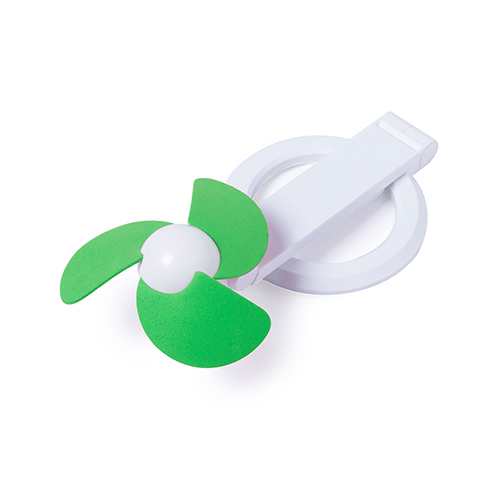Opvouwbare ventilator groen