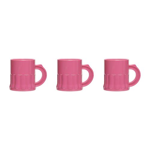 Shotglaasjes roze 25cl