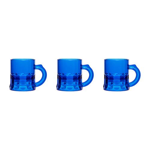 shotglaasjes blauw