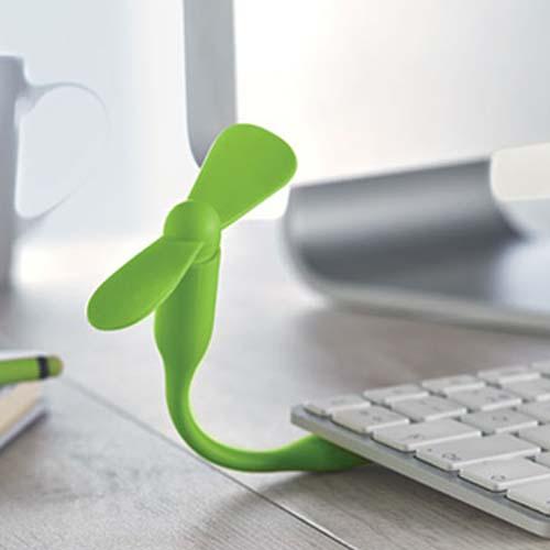 USB ventilator bedrukken sfeerfoto