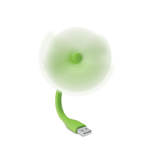 USB ventilator draaiend