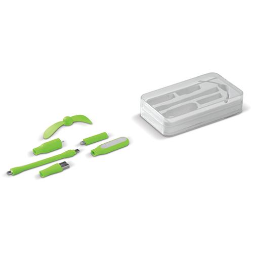 USB ventilator lamp groen