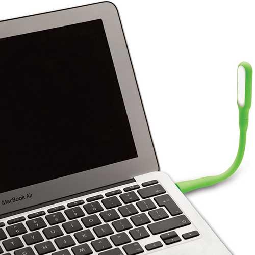 USB ventilator waaier lamp laptop