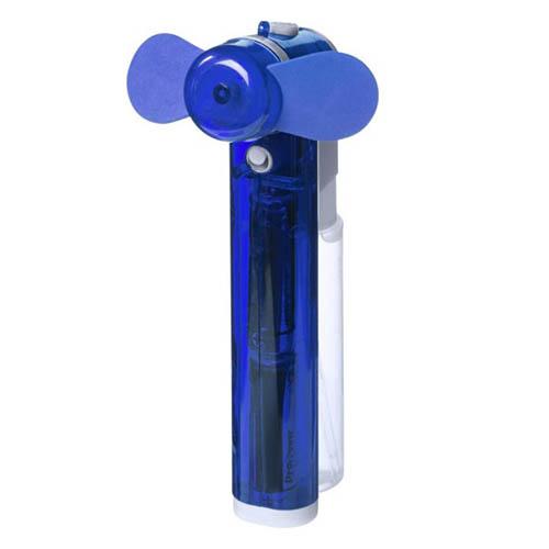 Ventilator met sproeier blauw