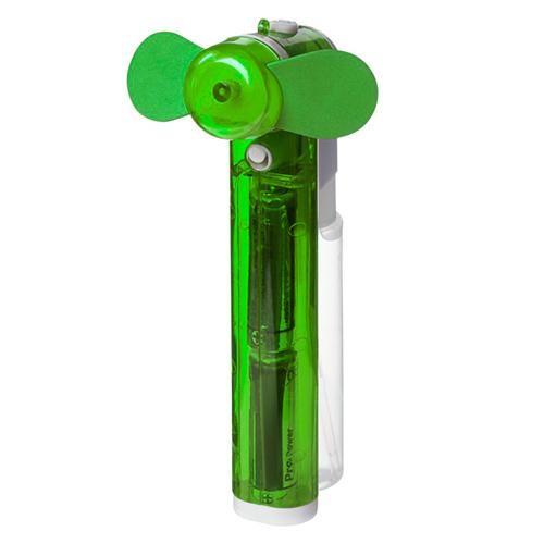 Ventilator met sproeier groen