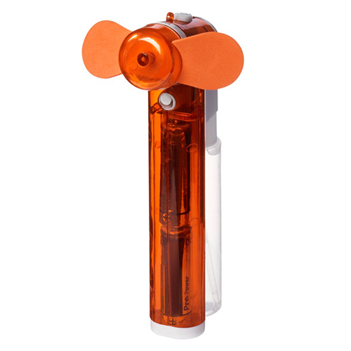 Ventilator met sproeier oranje
