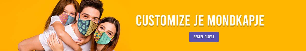 Custom mondkapje