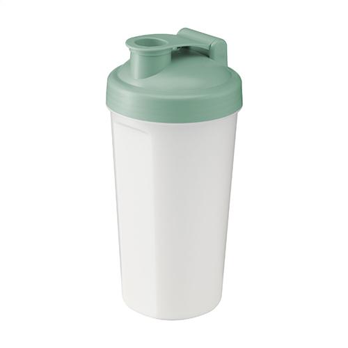 Eco shaker 600ml mintgroen