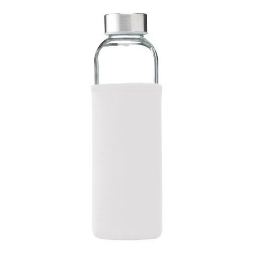 Glazen drinkfles senga 500ml wit