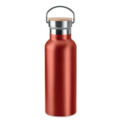 Helsinki drinkfles roestvrijstaal 500ML rood