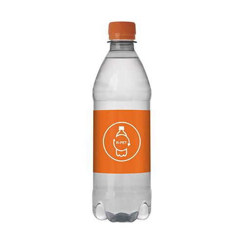 Waterflesje RPET 500ML draaidop oranje