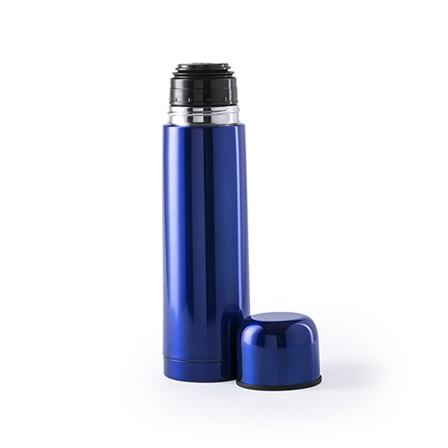 Thermosfles tancher 500ML blauw dop
