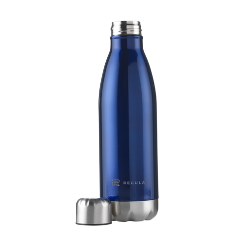 Thermosfles Topflask 500ML blauw dop