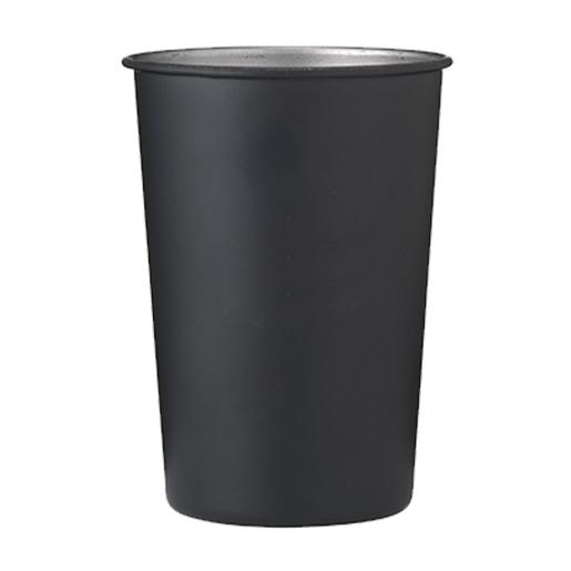 Herbruikbare RVS beker per5 zwart