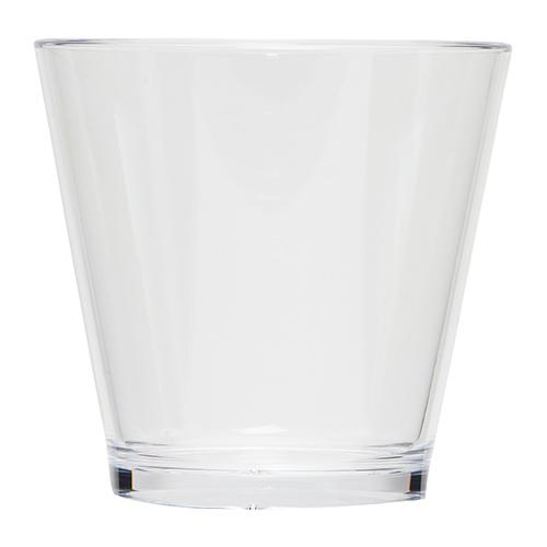Kunststof cocktailglas transparant 33cl