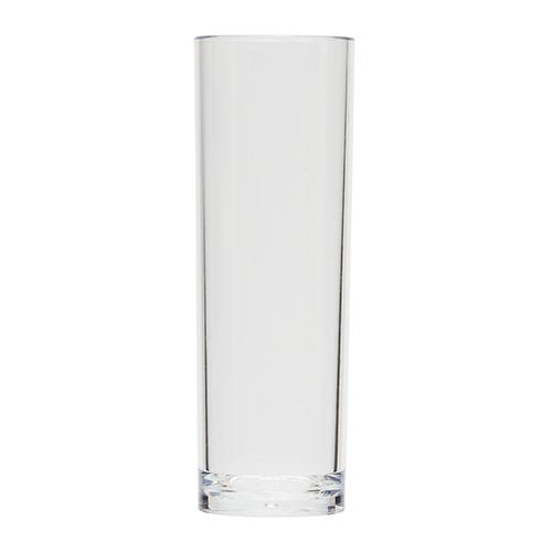 Kunststof longdrinkglas transparant 20cl