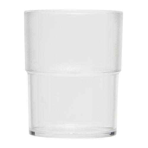 Kunststof waterglas transparant 18cl