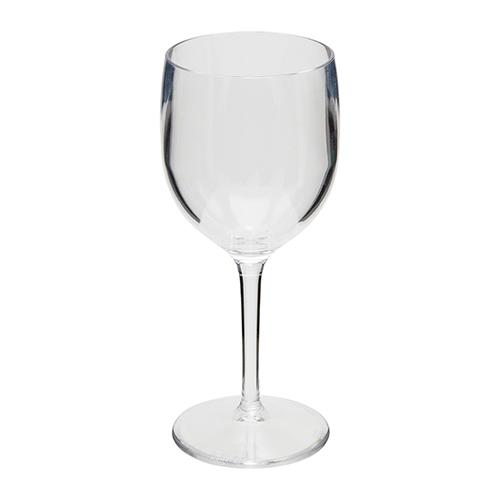 Kunststof wijn glas transparant 20cl