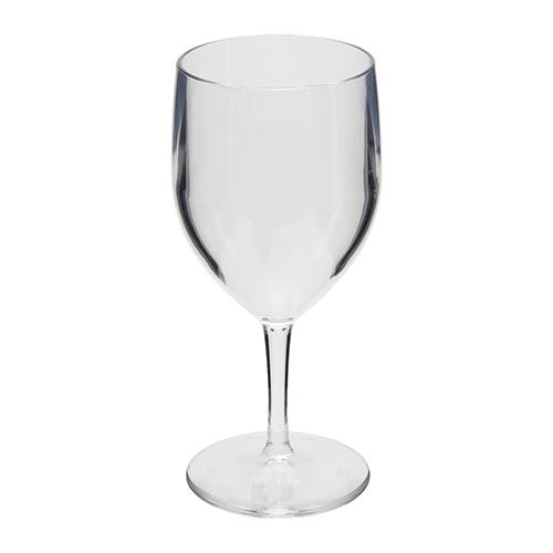 Kunststof wijn glas transparant 27cl