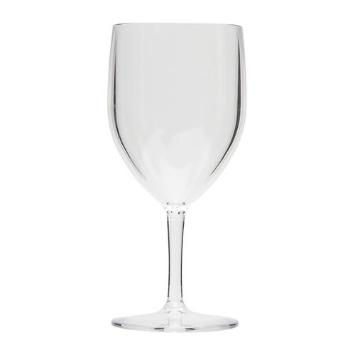 Kunststof wijnglas transparant 27cl