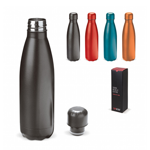 Metallic drinkfles 500Ml sfeer