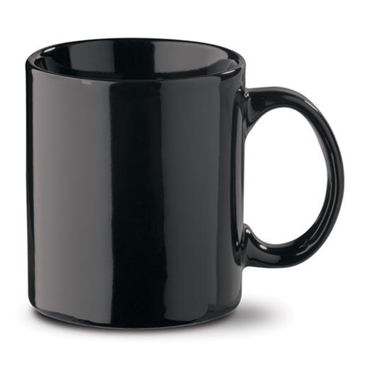 Mok 300ML aardewerk zwart