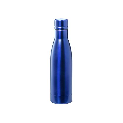 Thermosfles kungel blauw